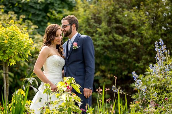 Hochzeitsfotograf im Park