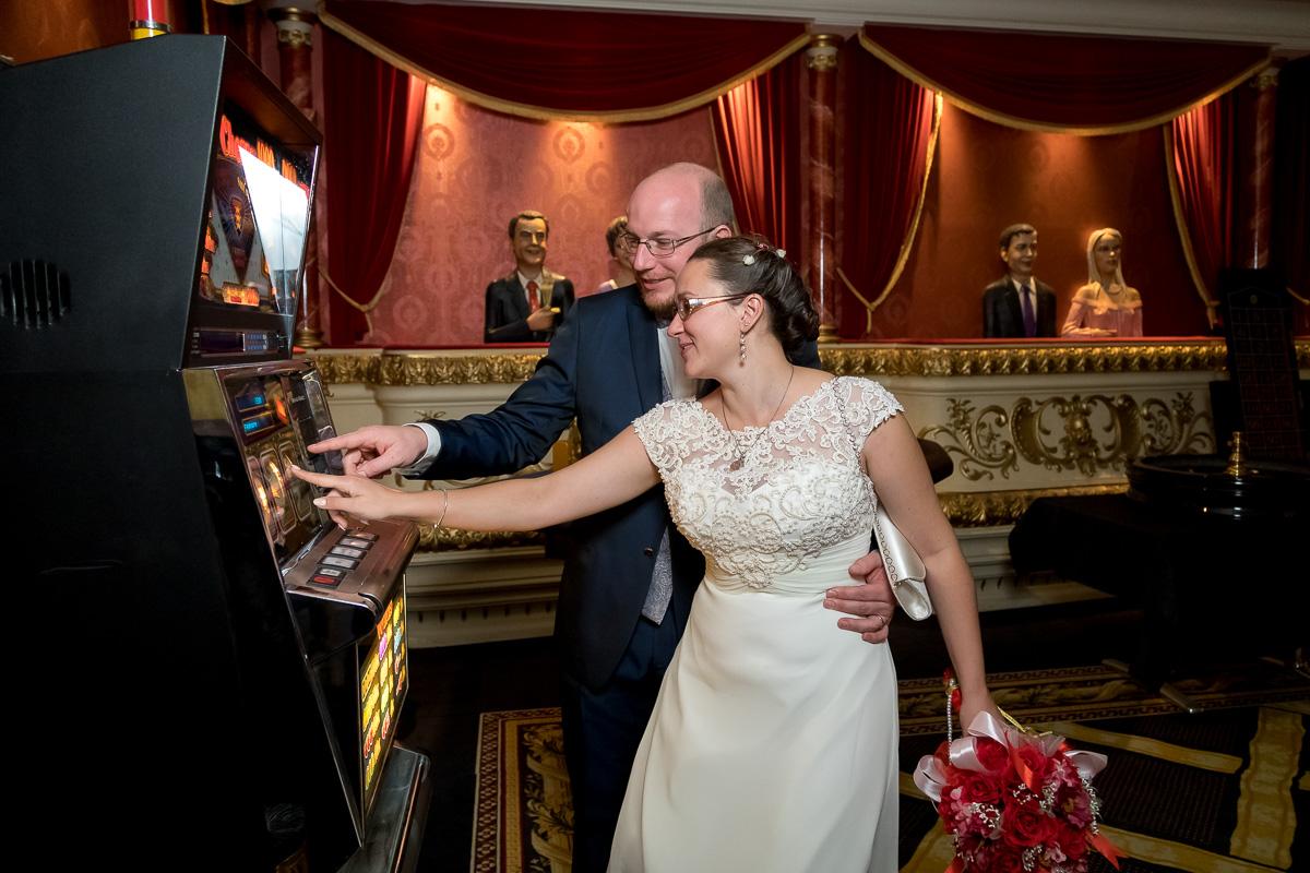 Hochzeitsfotograf im Spielkasino Pfäffikon
