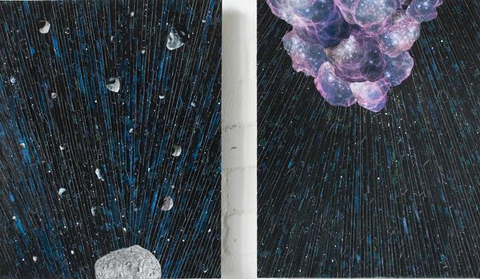Energie, each 50 x 40 cm, 2009