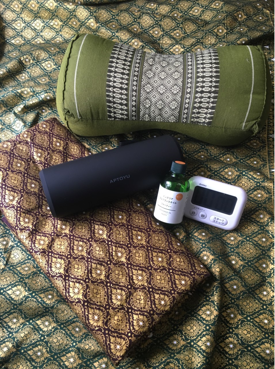タイの枕やタオルなどはこちらでご用意できます