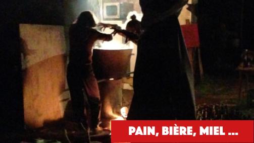 Pain, Bière, Miel