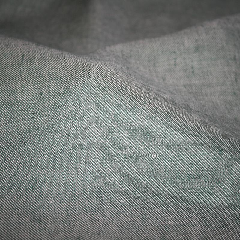 Denim Stoff - grün
