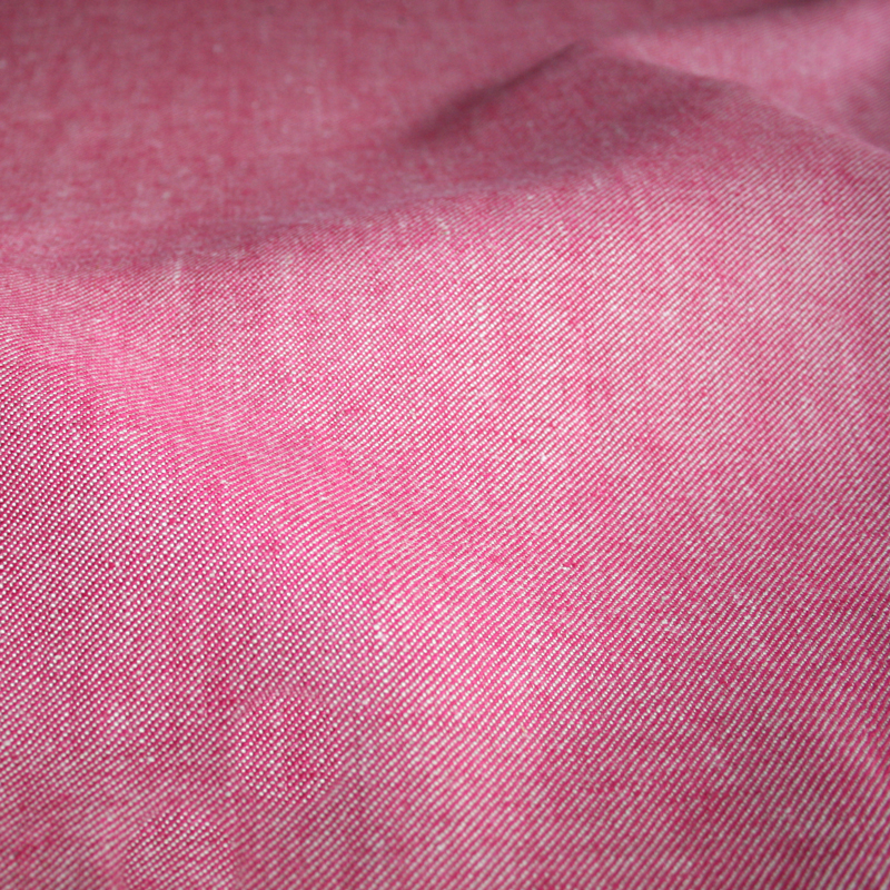 Denim Stoff - pink