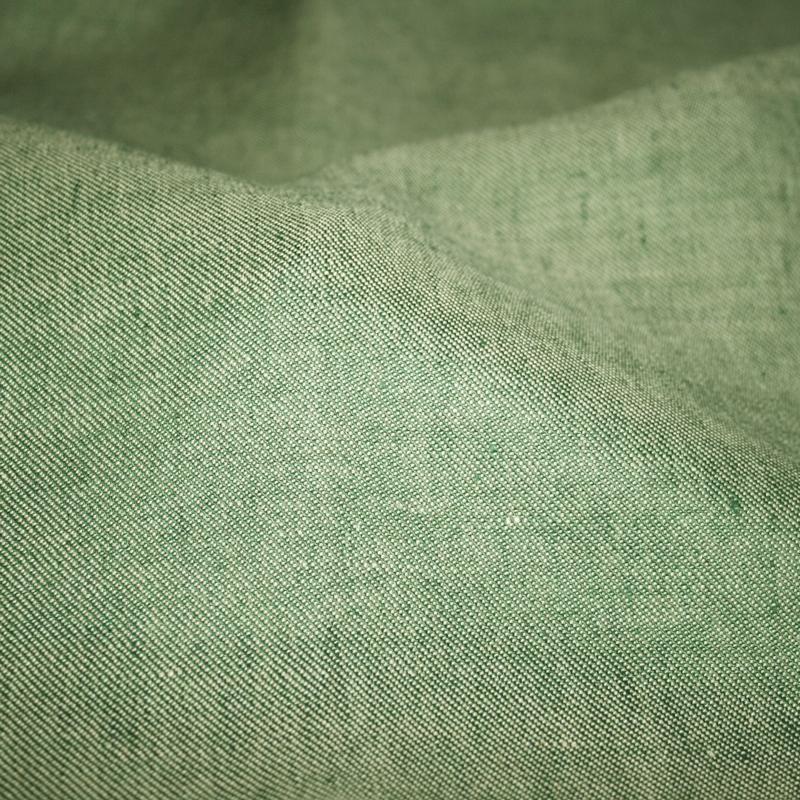 Denim Stoff - hellgrün