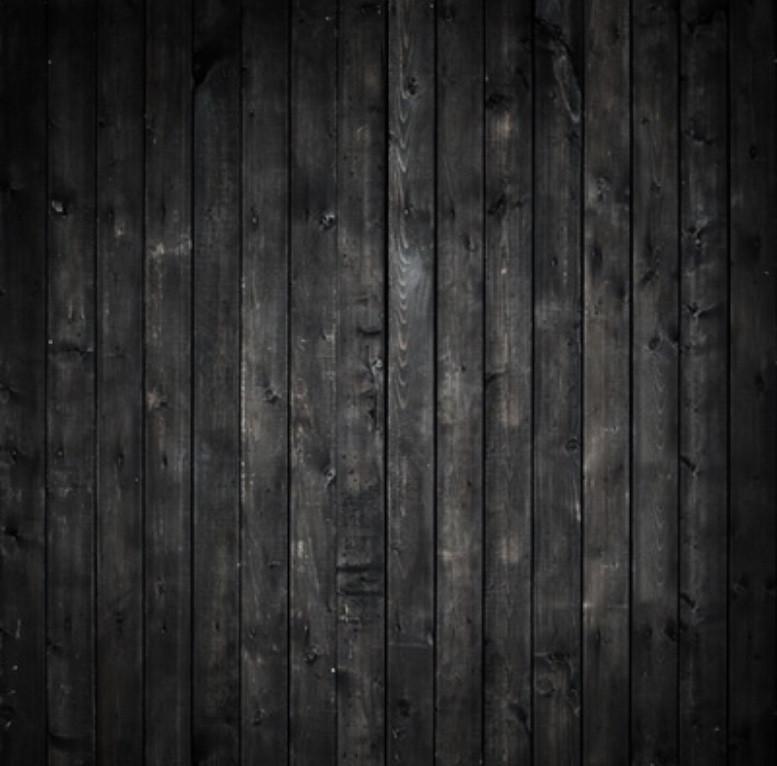 schwarzer Holzboden Untergrund für Newbornshooting