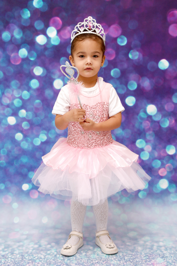 Kinderfotoshooting im Fotostudio Mumpf AG - kleine Prinzessin ♥