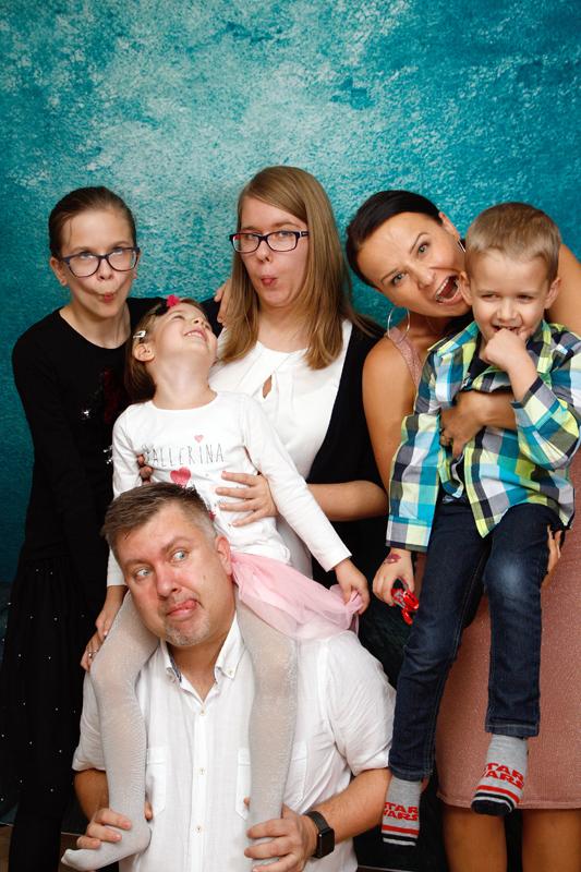 Homeshooting, Spass mit der Familie