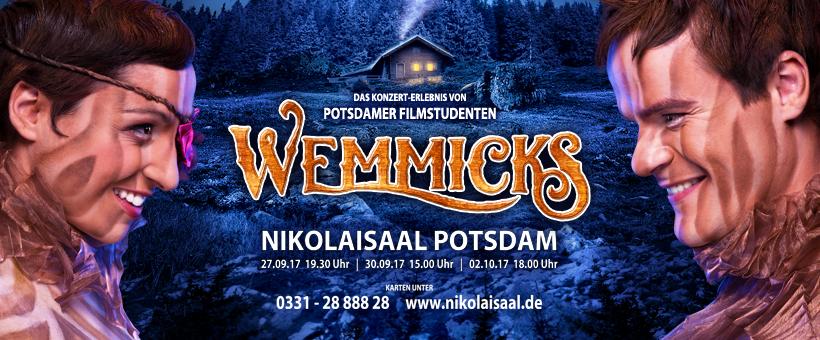 Wemmicks Das Musical - Plakat Shooting - Darsteller: Lasarah Sattler & Tom Schimon; Foto: Studio Fotostyle Marcel Wagner