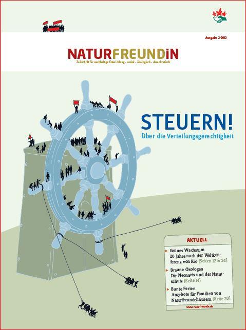 2012-2  NATURFREUNDiN | STEUERN - Über die Verteilungsgerechtigkeit