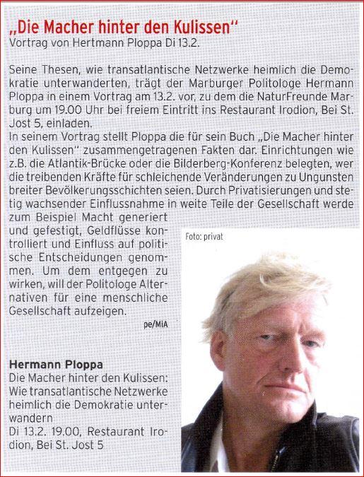 2018 - 13. Februar - NF-Stammtisch mit Hermann PLOPPA (Express MR)