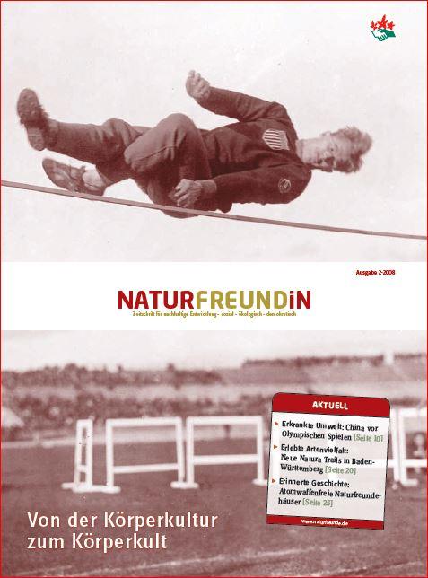 2008-2 NATURFREUNDiN | Von der Körperkultur zum Körperkult