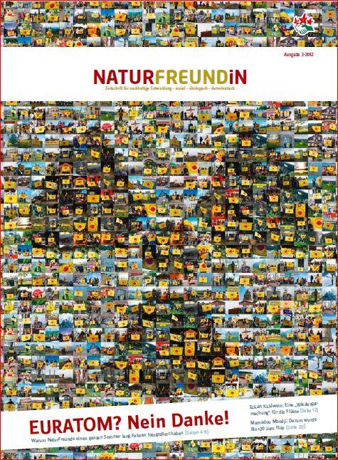 2012-3  NATURFREUNDiN | EURATOM? - Nein Danke.