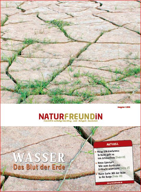 2008-1  NATURFREUNDiN | WASSER - Das Blut der Erde