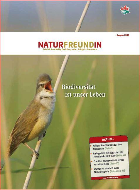 2010-1  NATURFREUNDiN | Biodiversität ist unser Leben