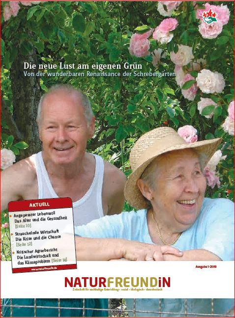 2009-1  NATURFREUNDiN | Die neue Lust am eigenen Grün