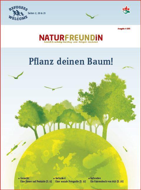 2015-4  NATURFREUNDiN | Pflanz deinen Baum!