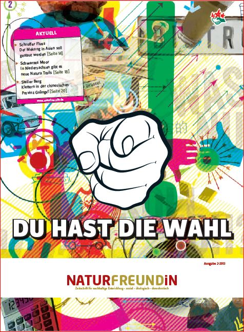 2013-2  NATURFREUNDiN | DU hast die Wahl!