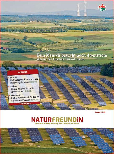 2009-2 NATURFREUNDiN | Kein Mensch braucht noch Atomstrom