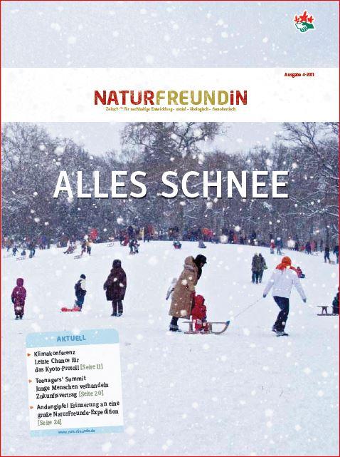 2011-4  NATURFREUNDiN | ALLES SCHNEE