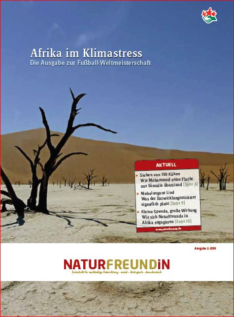 2010-2  NATURFREUNDiN | Afrika im Klimastress (Fussball WM)