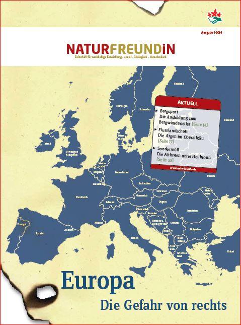 2014-1  NATURFREUNDiN | EUROPA