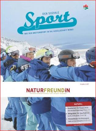 2017-4 NATURFREUNDiN |Der Soziale Sport - Wie der Breitensport in die Gesellschaft wirkt