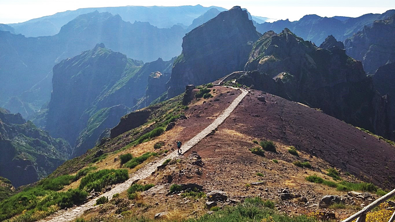 Wanderwege am Pico do Arieiro