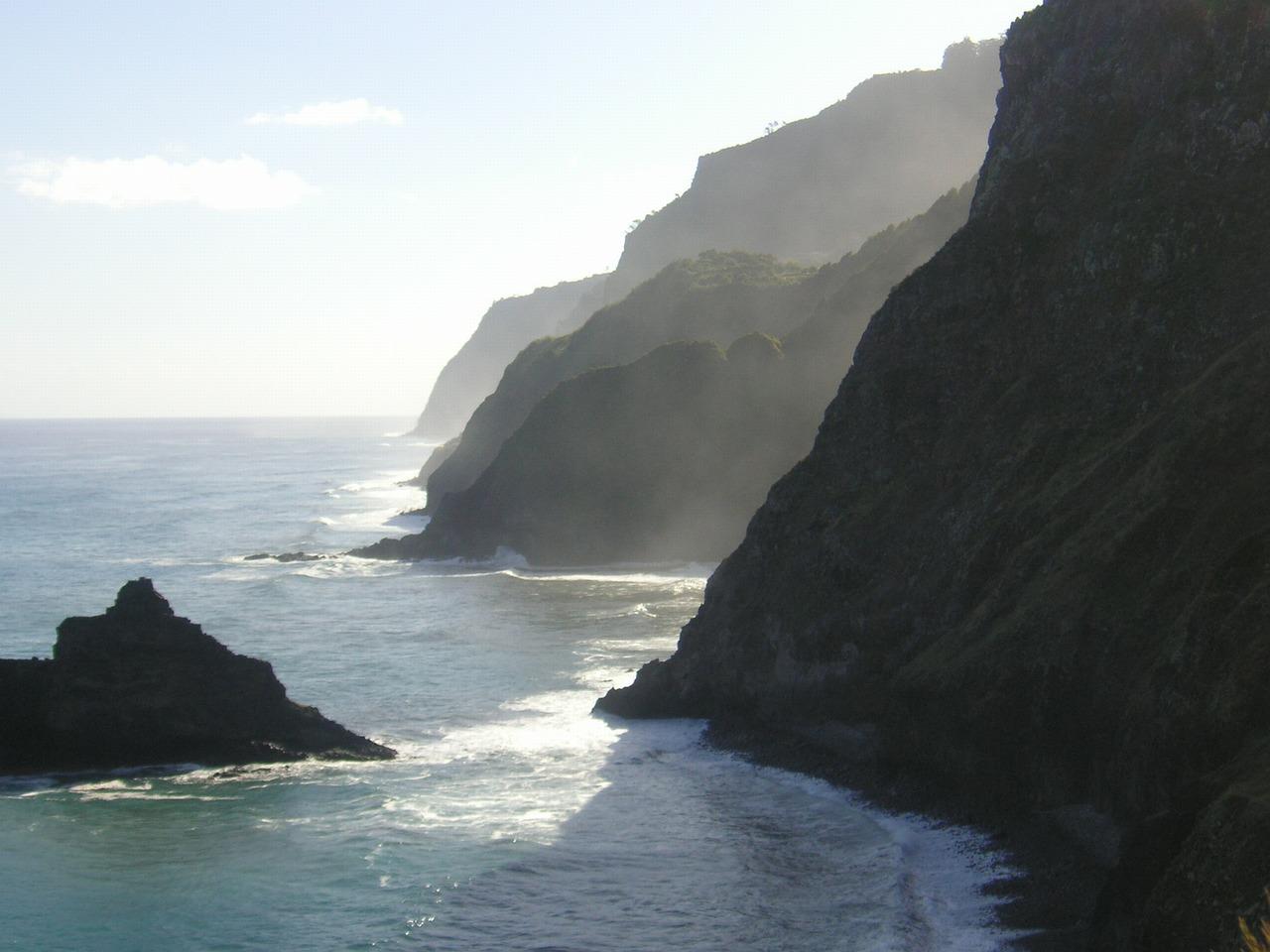 Northcoast near Ribeira da Janela