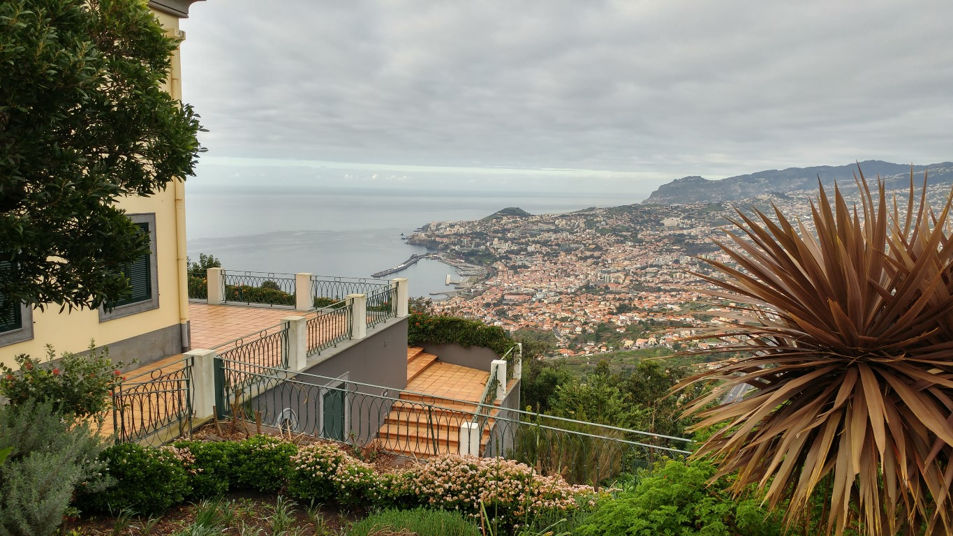 View over Funchal