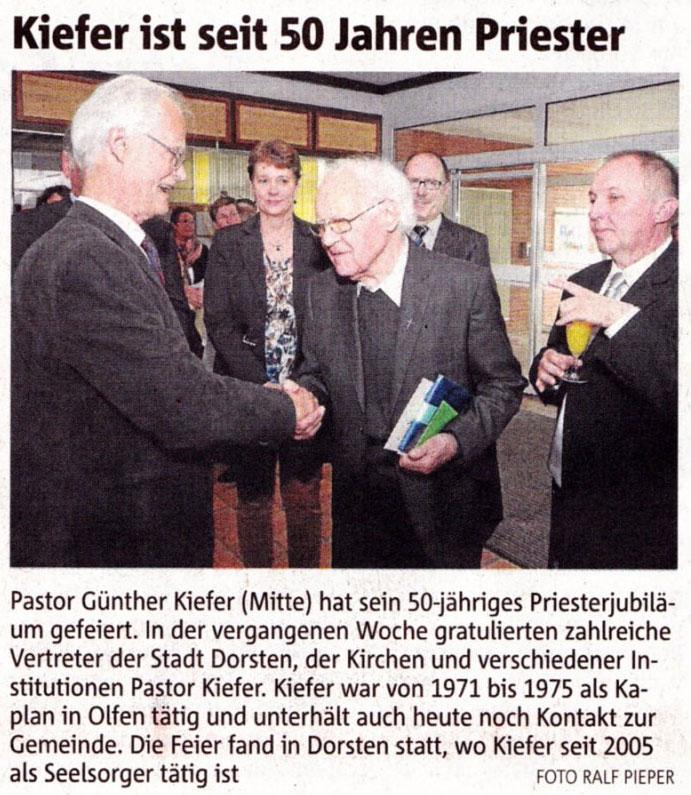 Kiefer 50 Jahre Priester - RN Foto Ralf Pieper