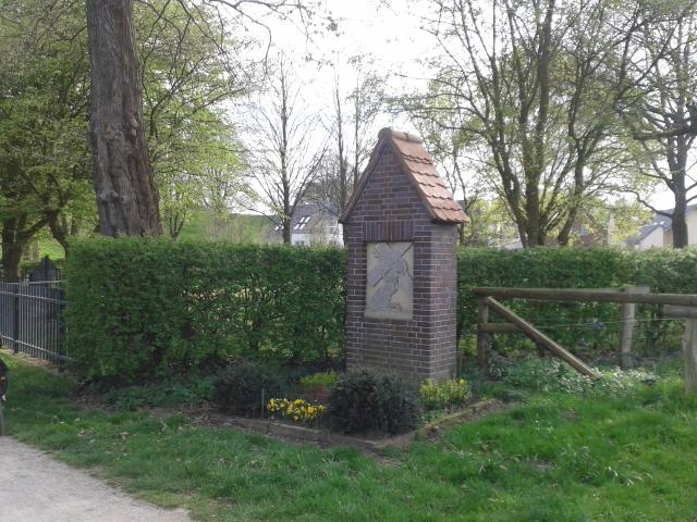 Kreuzwegstation 7 - vor dem Judenfriedhof