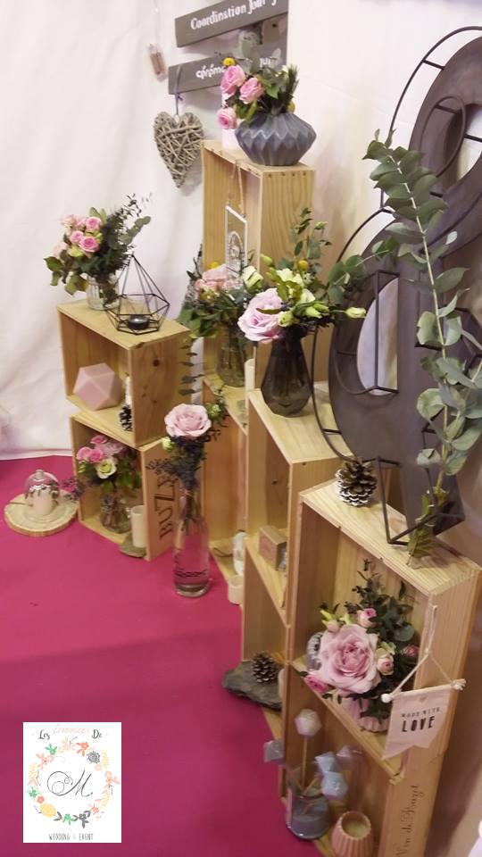Scénographie et créations florales de LPDM