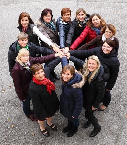 Das Lehrerinnenteam der Volksschule Niederndorf