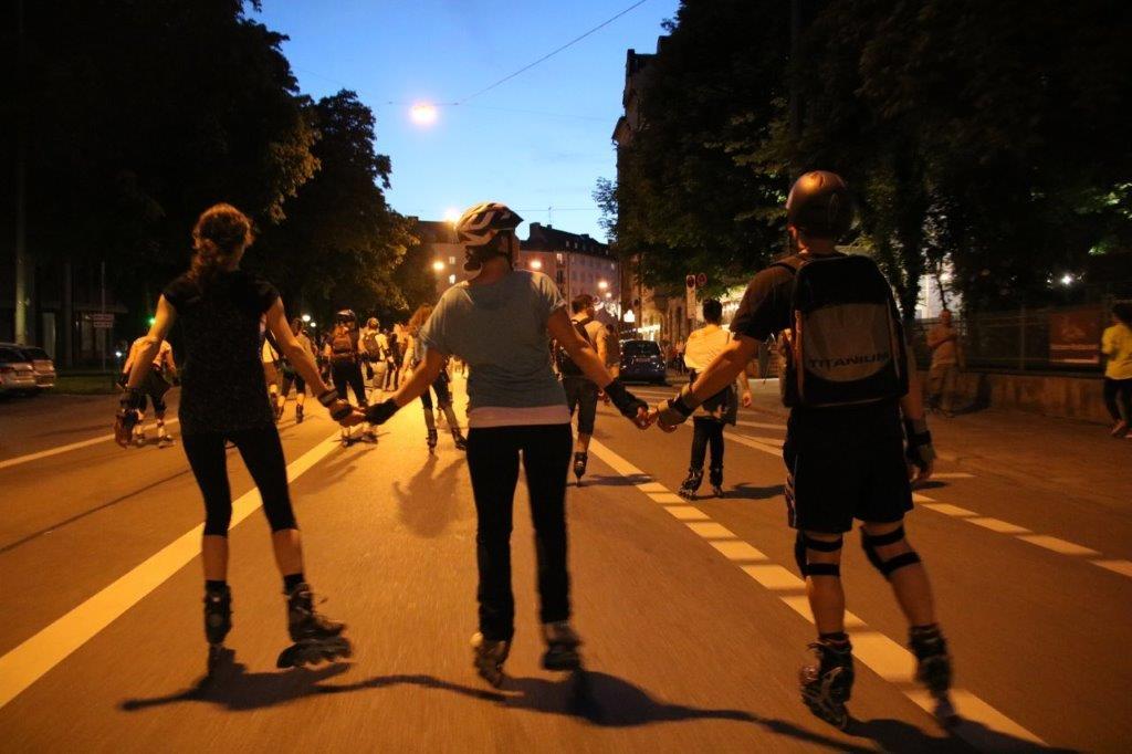 SkateScout begleitet auch Sie beim Skaten durch die Straßen Münchens