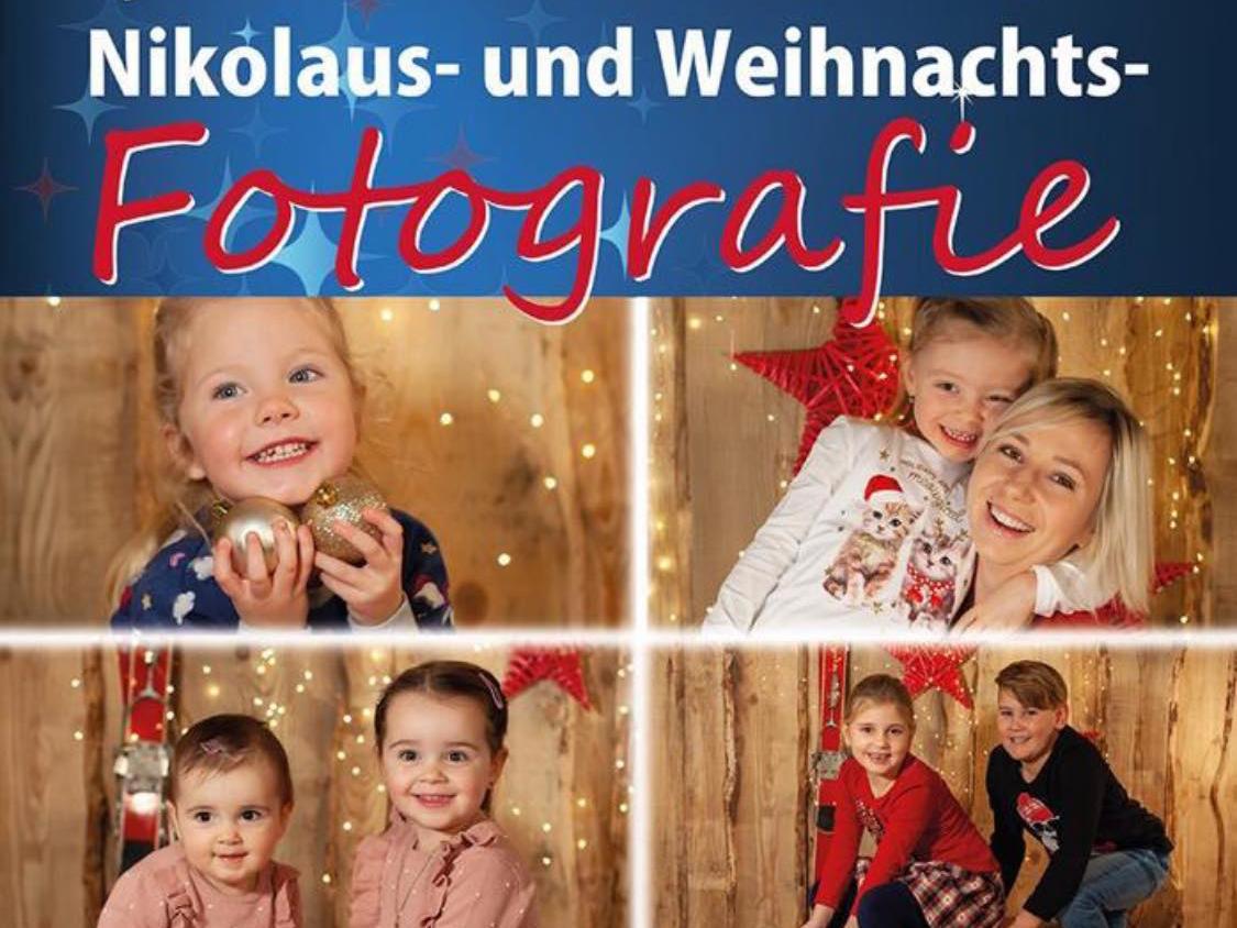Kinder Nikolaus und Weihnachtsfotografie