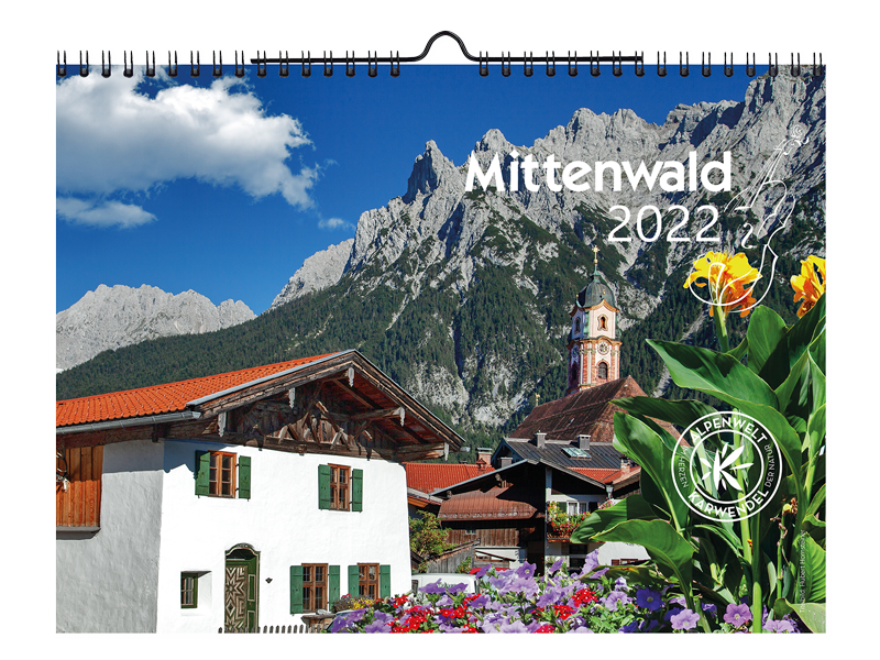 """Meine Fotos im """"Mittenwald Kalender 2022"""""""