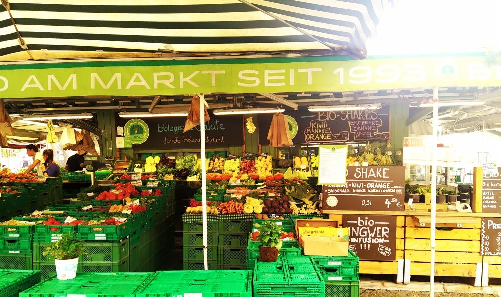 möglichst regional und saisonal Einkaufen ...