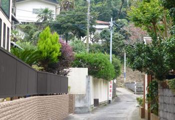 鎌倉・長谷の住宅街
