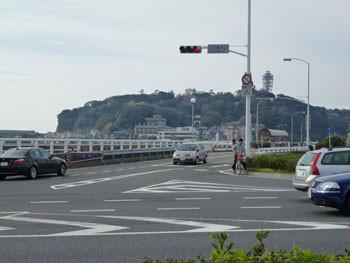藤沢市・江ノ島入り口付近