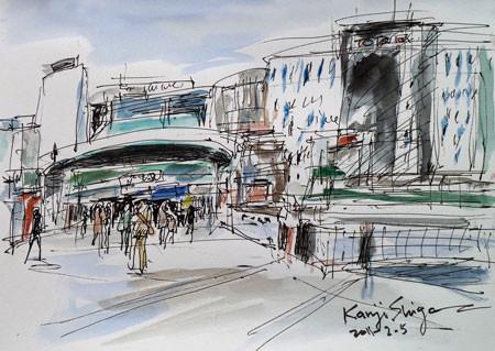横浜市・JR戸塚駅
