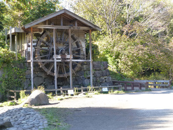 大和市・泉の森の水車小屋