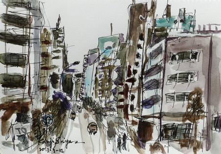 藤沢・ビル街