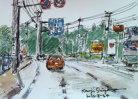 神奈川県藤沢市・国道43号線