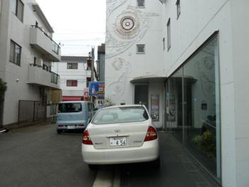 横浜市港北区・エルム通りの裏通り