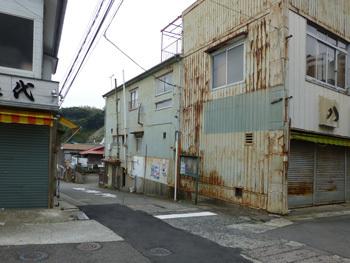 神奈川県・真鶴町の古い建物