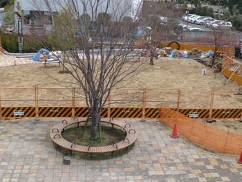 藤沢・奥田公園の造園拡張工事