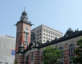 横浜市・横浜市開港記念会館のジャックの塔