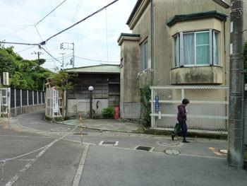 鎌倉の古い住宅街