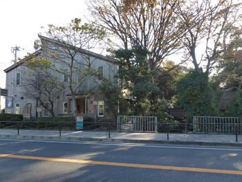 神奈川県・大磯の鴫立庵(しぎたつあん)付近