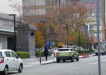 横浜・情報文化センターのパーキングエリア